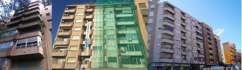 Rehabilitación fachadas Valencia - Imagen de obras realizadas