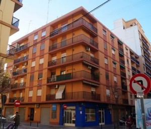 Rehabilitación integral edificios Valencia - Ejemplo de fachada rehabilitada