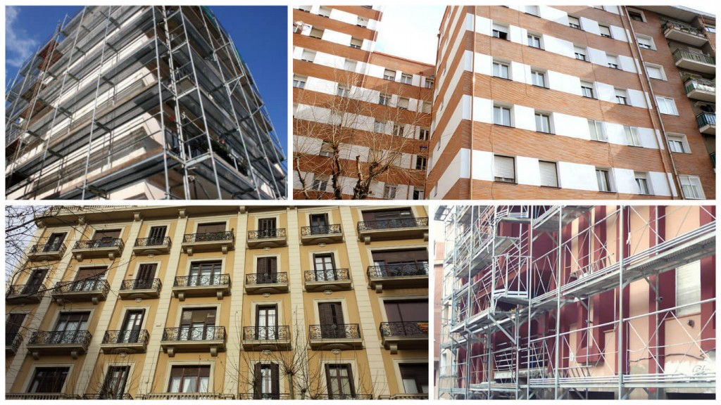 Restauración de fachadas Valencia - Servicios profesionales