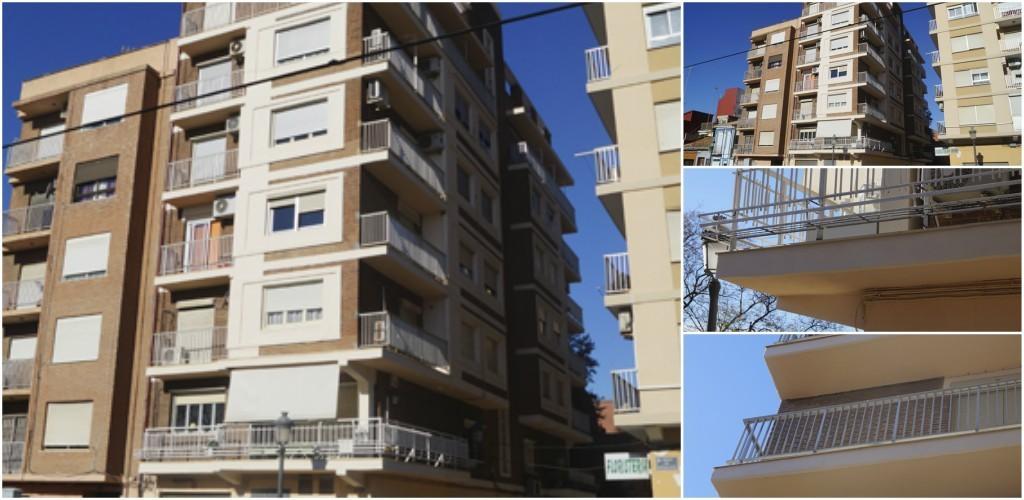 Trabajos de rehabilitación de fachadas Valencia - Empresa profesional