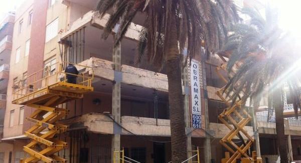 Trabajos de rehabilitación de fachadas Valencia - Servicios de calidad