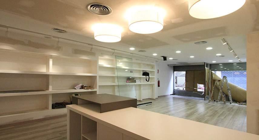Servicios de reforma de locales comerciales Valencia - Empresa profesional