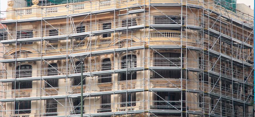 Servicio de rehabilitación de fachadas Valencia