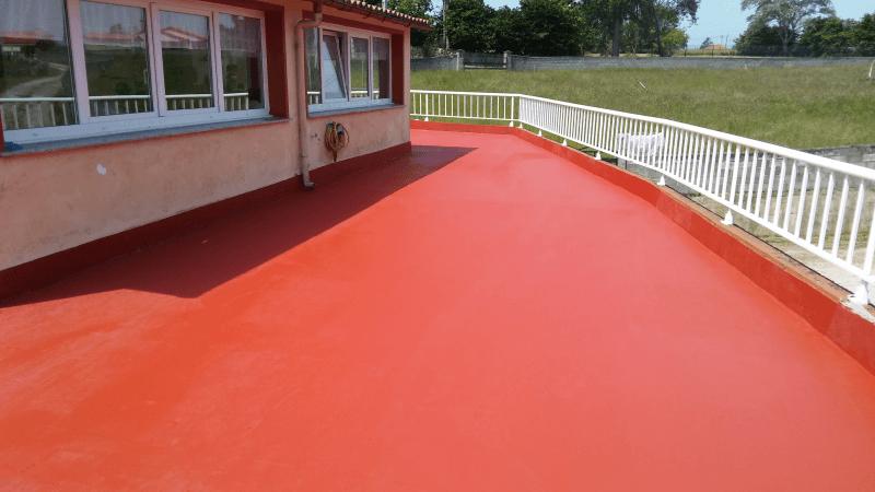 Servicio de impermeabilización de terrazas