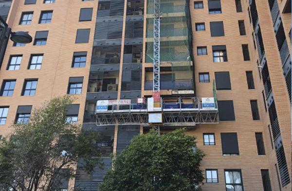 Empresa de servicios de rehabilitación de fachadas