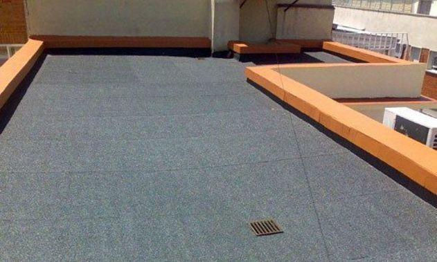 Servicios de impermeabilización de terrazas